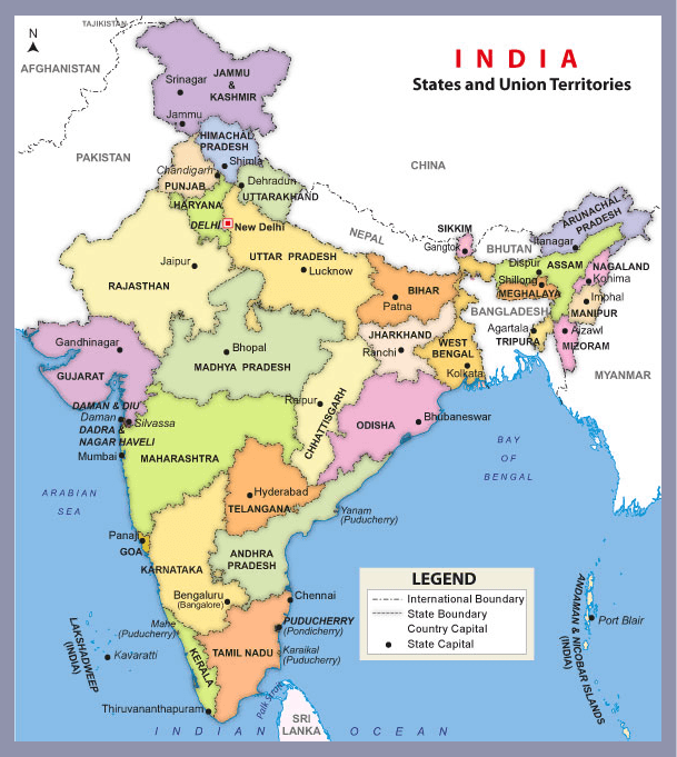 India Country Map